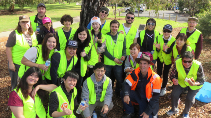 ILSC Melbourne Eco Volunteer - Tree Planting